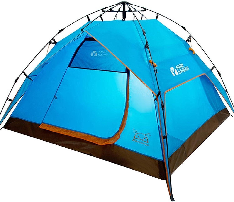 Outdoor-Camping-Zelt Campingausrüstung Freizeitpark drei Viertel von Wind und regen 3-4 3-4 3-4 Personen Zelt automatische Zelt Camping B01EBOW6C0  Ausgezeichnete Leistung 1df973