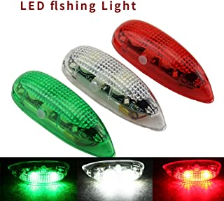RC Plane Wireless LED Light Kit for Bicycle Jet Airplane Air Craft Fix Wing Quadcopter,Rechargeable Red Green White LED Flashing Lights(3PCS/Set)