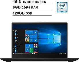 Lenovo 2019 Premium Ideapad S340 15.6 Inch HD Laptop (Intel Dual Core i3-8145U up to 3.9 GHz, 8GB RAM, 128GB SSD, Intel UHD Graphics 620, WiFi, Bluetooth, HDMI, Windows 10) (Black)