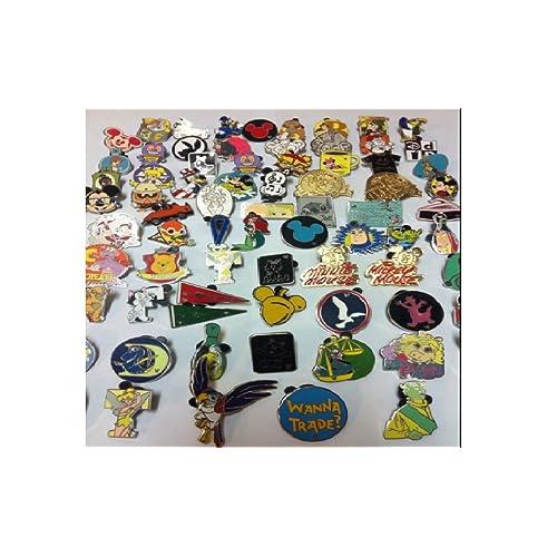 FREE US Shipping No Duplicates Free Bonus Pins Disney Pin Lot 100