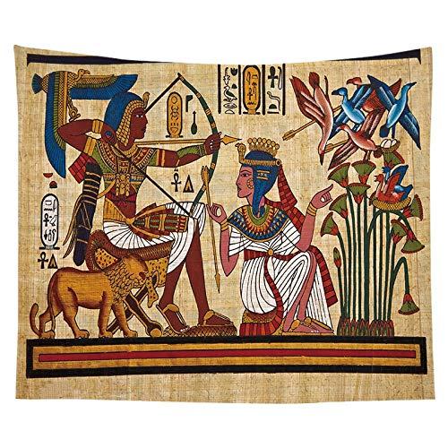 Tapiz del faraón egipcio antiguo pintura famosa colgante de pared pirámide pirámide estera de yoga toalla de playa tapiz egipcio a14 180x200cm