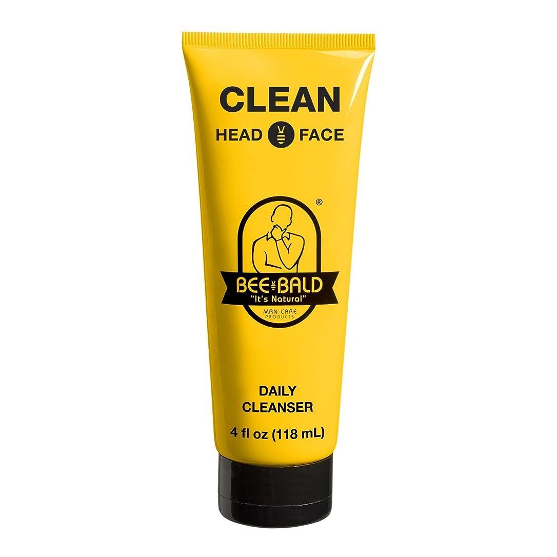 戦士セーブ有利Bee Bald クリーン頭や顔を洗うシャンプー、4オンス