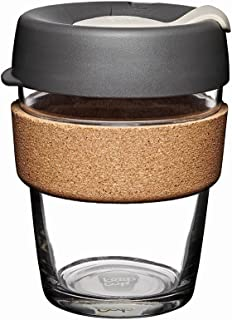 KeepCup Brew Cork Tempered Glass 12oz BPRE12
