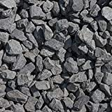 砂利 黒 庭 ガーデニング 駐車場 砕石 黒砂利 黒い 中粒 天然石 石 洋風 和風 庭石 アッシュ ブラック 20kg 約20mm内外 約15-30mm (20)