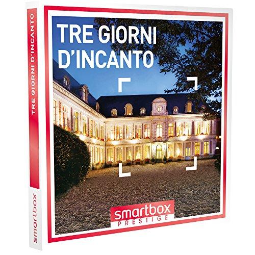 smartbox - Cofanetto Regalo - Tre Giorni D'INCANTO - 45 soggiorni con Cena in Castelli, Hotel 4* e 5* e dimore raffinate