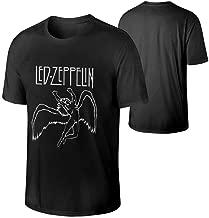 Led Zeppelin Logo and Symbols Men's Short Sleeve Fit T-Shirt Shirt