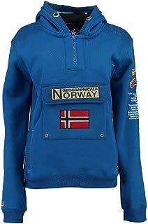 Geographical Norway - Felpa da uomo modello Gymclass Ass A 007