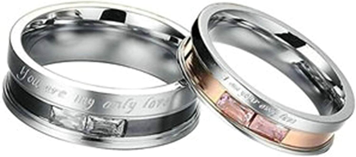 Bishilin Special price for a limited time Band Ring Stainless ...