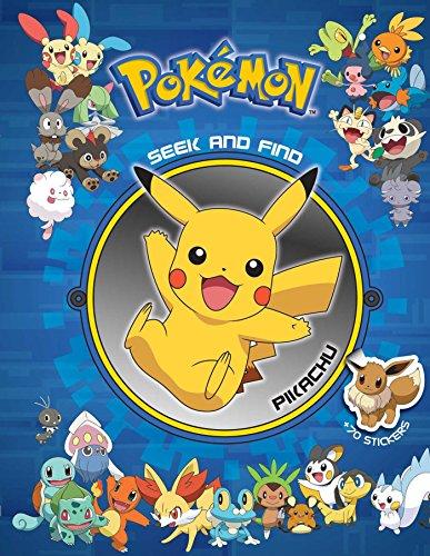 Pokemon Seek and Find: Pikachu