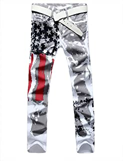 skinny jeans american flag