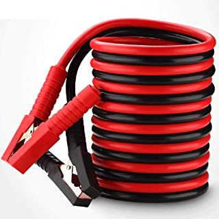 Heavy Duty Booster Cables Jump Start Leads1800 Amp, Colour Coded Clamp - for Cars Vehicles Up To 3.0L/3,000CC,4m x 10mm