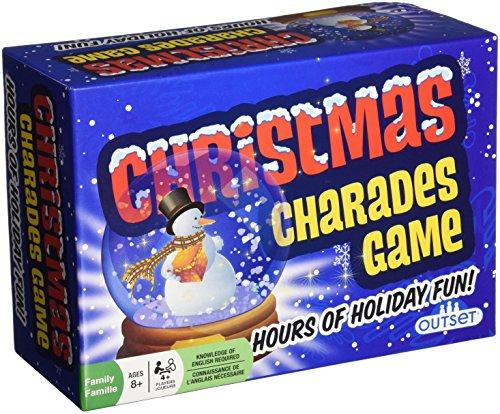 Christmas Charades Board Game