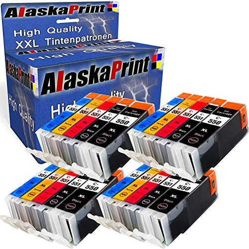 20 Druckerpatronen kompatibel für Canon PGI-550 XL CLI-551 XL Pixma MX925 MX920 MX725 iP7250 iX6850 iP7200 IP8750 MG5550 MG5650 MG5655 MG6450 MG6650 MG6350 MG5400 MG5450 MG7100 MG7150 MG7500 MG7550