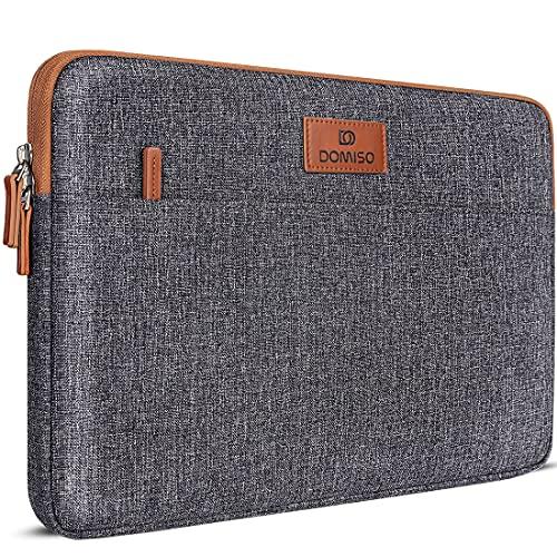 DOMISO 14 Pulgada Funda Ordenador Portátil Impermeable Protectora Bolsa para 14' Lenovo ThinkPad X1 Carbon/ThinkPad A475 L480 T490s/HP ProBook 640 645/Dell Latitude 5490 7490