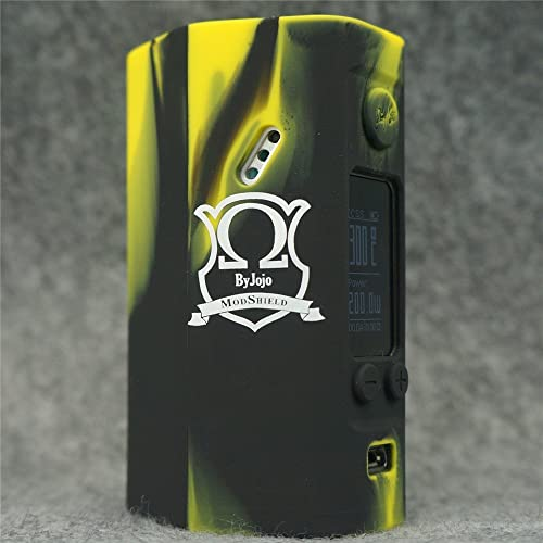 Silicone Case for Wismec Reuleaux RX200S MOD SHIELD ByJojo Skin RX 200 S Sleeve Cover Wrap