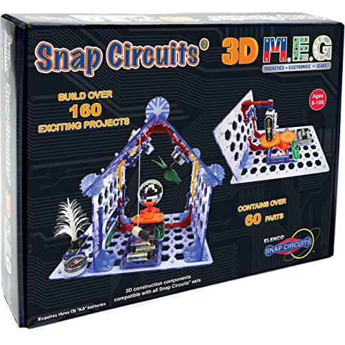 Snap Circuits  3D MEG Electronics Discovery Kit