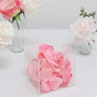 Best clear acrylic flowers Reviews