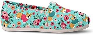 Corgi Flower Casual Shoes