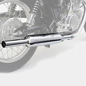 デイトナ バイク用 スリップオンキャブトンタイプマフラー クロームメッキ FIモデル専用 SR400(10~17) 92255