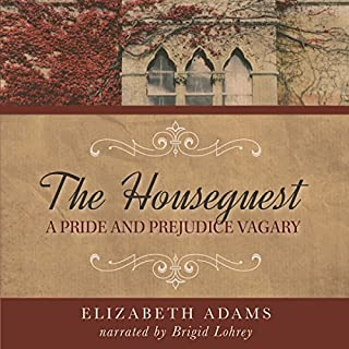 The Houseguest audiobook cover art
