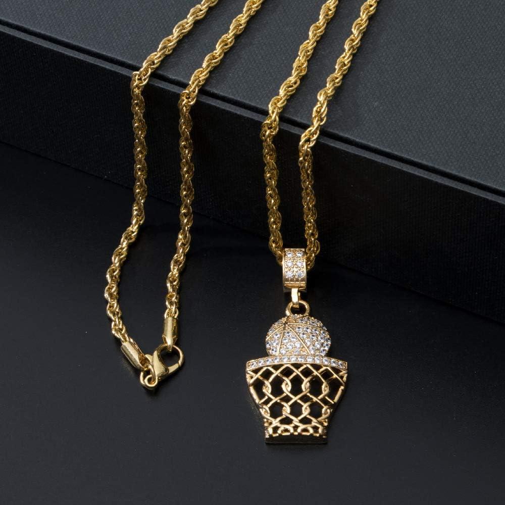 Boy Basketball Necklace Basketball Pendant Necklace Stainless Steel Necklace Sports Necklace