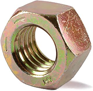 Grade 5 Zinc Plated Steel Grade 5 50-Pack Prime-Line 9086599 Finished Hex Nuts 1//4 in.-28