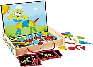Hape E1631 Magnetic Art Box (105 Pieces)