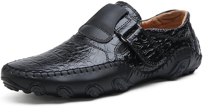 Z.L.F. Mans Oxford skor Loafer Flat Heel Slip Slip Slip on Genuine läder skor Up to Storlek 11MUS mode skor  officiell hemsida
