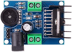 Electronic Module Audio Power Amplifier DC 6-18V TDA7297 Module Double Channel 10-50W 15Wx2