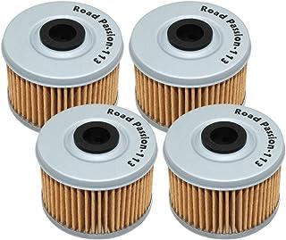 Road Passion Ölfilter für Honda TRX300 Fourtrax 90 01 TRX350FE Rancher 00 06 TRX420TE 07 13 TRX450ES Foreman 98 01 4x4 (4 Stück)