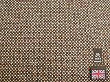 100% reine Schurwolle Birdseye Weave Tweed Stoff BZ40