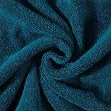 Yuzhijie Juego de toallas de baño 100% algodón, absorbentes para adultos, color sólido, suave y amigable con la cara, toalla de ducha para baño (color: gris oscuro, tamaño: juego de 3 piezas)