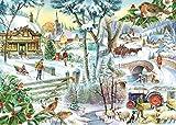 Rompecabezas Murosn for Adultos 1000 Pedazos niños en Edad de 8 años de Arte Regalo de Juguete for los niños Niña Niño Hombre Mujer decoración Escena de la Nieve