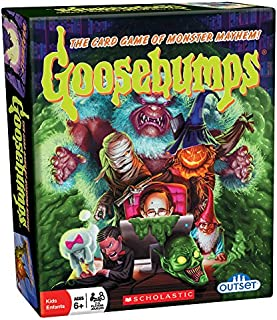 Outset Media - Goosebumps Card Game Pits Monster Vs Monster - 30 Unique Characters (Ages 6+)