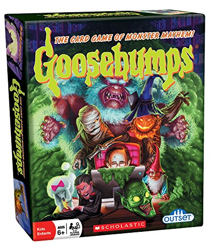 Outset Media  Goosebumps Card Game Pits Monster Vs Monster  30 Unique Characters Ages 6