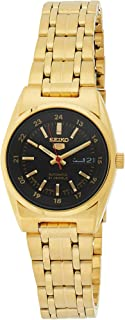 SEIKO Women's Automatic Watch, Analog Display and Stainless Steel Strap SYMC06J1