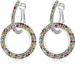 Best cz oval hoop earrings Reviews