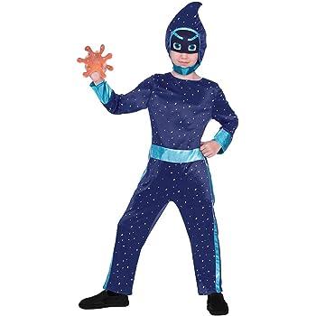 amscan 9904234 - Disfraz infantil de ninja (104 cm), color azul ...