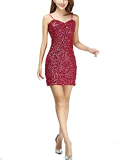 532117544ae13 Whitewed Short Womens Sparkly Bandeau Sequin Paillettes Bodycon Vegas  Dresses