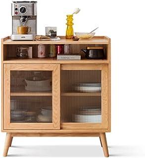 QuRRong Buffet Buffet Oak Nordic Salon Salon Armoire à thé Moderne Porte coulissante Minimaliste Meuble de Cuisine pour Le...