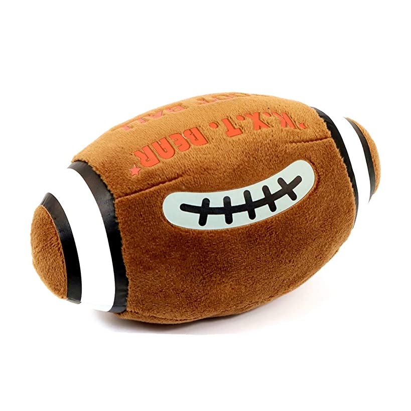 Zhan Yi Pet Toys Stuffed Ball with Noise Squeaker Football for Puppy Small Medium Dogs in/Outdoor