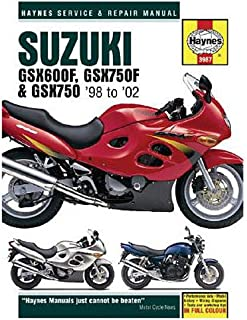 Haynes Reparaturanleitung Suzuki f. Suzuki GSX 600 F W AJ1113 AJ111300 10 3987 6