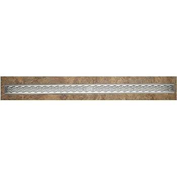 ACO 37240 Quartz Plus 4-Feet Wavy Grate Design