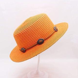 Comfot Sombrero para el Sol Sombrero Femenino para el Verano Junto al mar Sombrero Lateral Ancho Sombrilla Plegable Sombrero para el Sol Color: Beige, Tama/ño: 52-56cm ,3