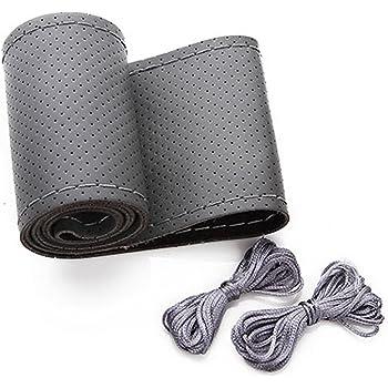 cucito a mano Coprivolante in vera pelle supporto di dimensioni standard 36//38//40//42//45//47//50 cm per fai da te