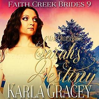 Mail Order Bride - Sarah's Destiny audiobook cover art