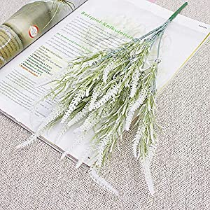 Artificial and Dried Flower 7 Branch Foxtail Artificial Flower Lavender Autumn Home Decoration Wedding Bridal Bouquet Fake Flowers