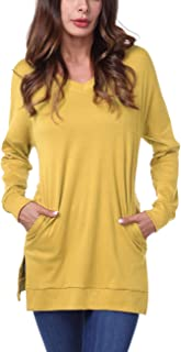 Best womens yellow tunics Reviews