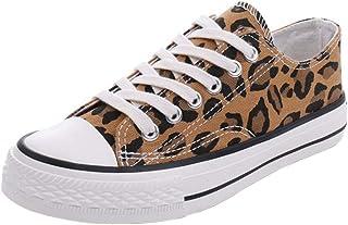 RAZAMAZA Women Casual Lace Up Canvas Sneakers