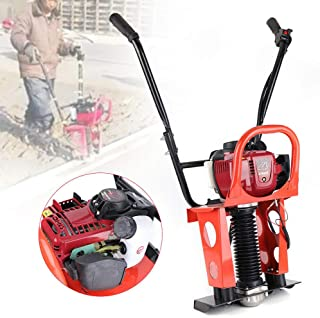 DONNGYZ GX35 Concrete Screed Engine 37.7cc 4 Stroke Gas Concrete Wet Power Screed Cement Assembly Concrete Vibrator Vibrating Power Screed Fit 1-6M Blade(US Stock)
